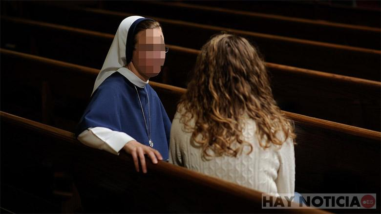 "Pregnant nun says ""it was The Holy Spirit"""